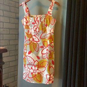 Anthropologie Maeve floral print dress